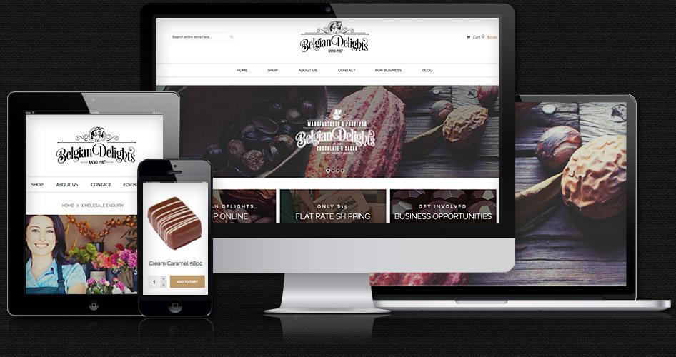 Magento eCommerce Web Design Portfolio